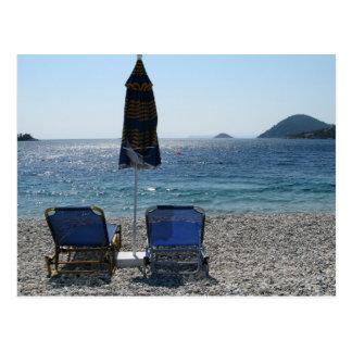 Panormos Beach Skopelos Postcard