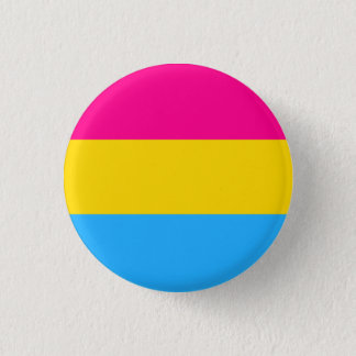 """PANSEXUAL PRIDE FLAG"" 1.25-inch 3 Cm Round Badge"