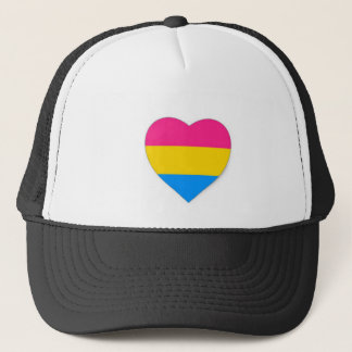 Pansexual pride hat