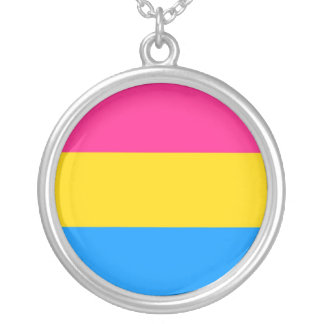 Pansexual Pride Necklace