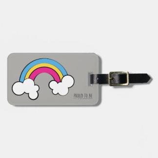 Pansexual | Rainbow Design | Luggage Tag