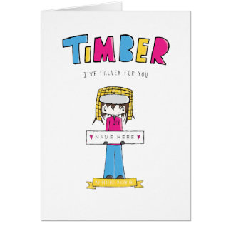 Pansexual | Timber Valentine Design | Card