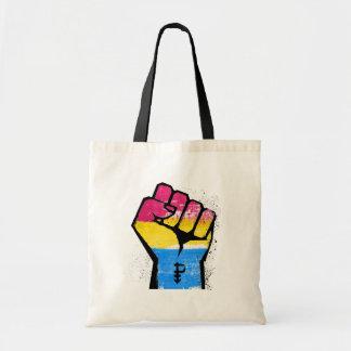PANSEXUALS RESIST AND SYMBOL - LGBT RESISTANCE -.p Tote Bag