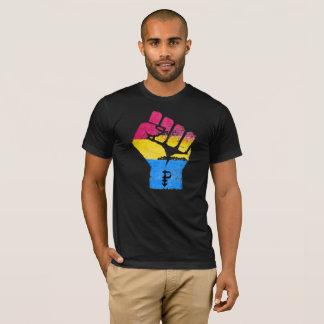 PANSEXUALS RESIST FIST - LGBTQ Vintage Artwork -.p T-Shirt