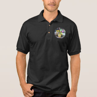 Pansies and Watering Cans on Steps Shirt