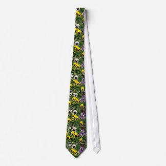 Pansies  flowers tie