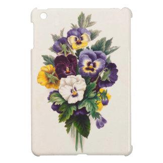 Pansies iPad Mini Cover