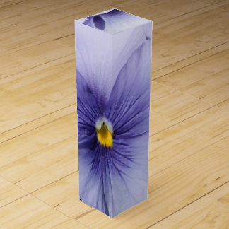 Pansies Wine Gift Box