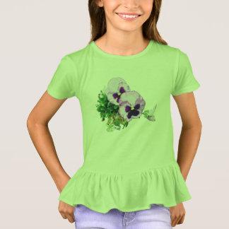 pansy 17 watercolor 728 T-Shirt