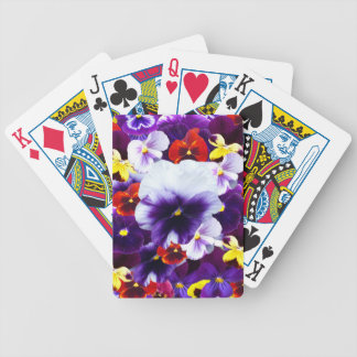 Pansy Celebration, Bicycle Playing Cards