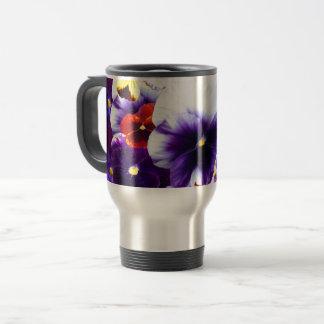 Pansy Celebration, Travel Mug