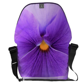 pansy courier bag