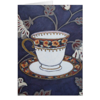 'Pansy Cup' Art Card