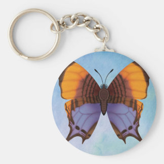 Pansy Daggerwing Butterfly Key Ring