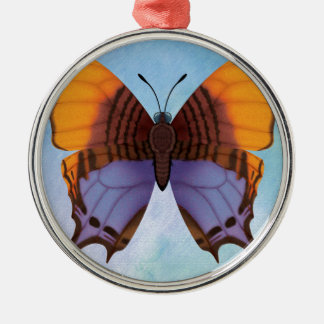 Pansy Daggerwing Butterfly Metal Ornament