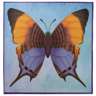 Pansy Daggerwing Butterfly Napkin