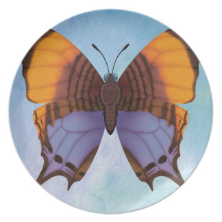 Pansy Daggerwing Butterfly Plate