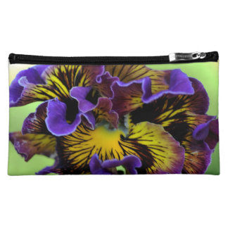 Pansy Flower Cosmetic Bag