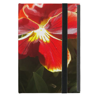 Pansy flowers case for iPad mini