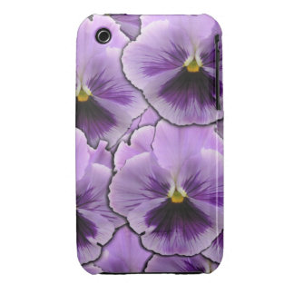 Pansy Garden iPhone 3 Cases