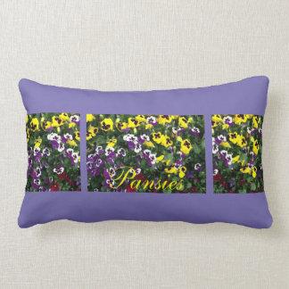 Pansy Lumbar Pillow