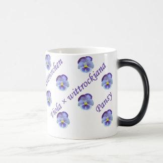 Pansy Morphing Mug