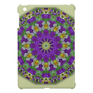 Pansy, Pansies Nature, Flower-Mandala iPad Mini Case