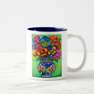 Pansy Parade Coffee Mug
