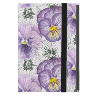 Pansy pattern cases for iPad mini