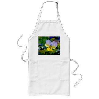 Pansy Perfection Long Apron