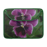 "Pansy Pictures 13"" MacBook Sleeve"