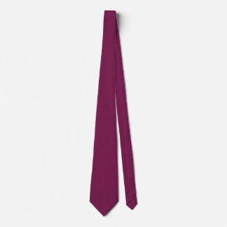 Pansy Purple Contemporary Single Color Tie