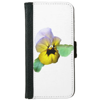 Pansy Saluting iPhone 6 Wallet Case