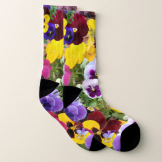 Pansy socks 1