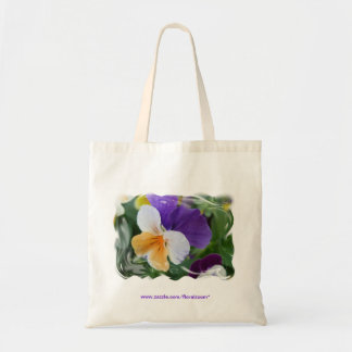 Pansy Swirl Tote