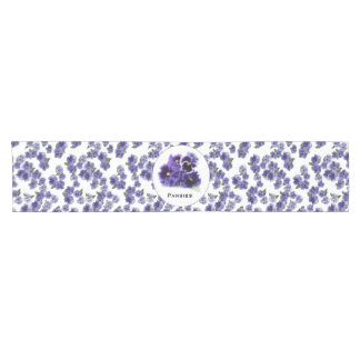 Pansy Table Runner