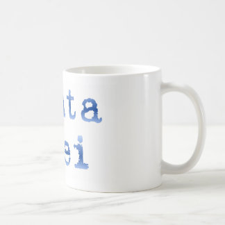 "Panta rhei ""Everything flows"" Coffee Mug"