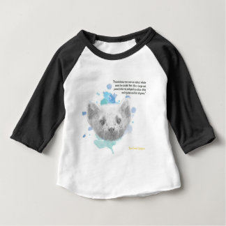 Pantalaimon, Lyra's Daemon from His Dark Materials Baby T-Shirt