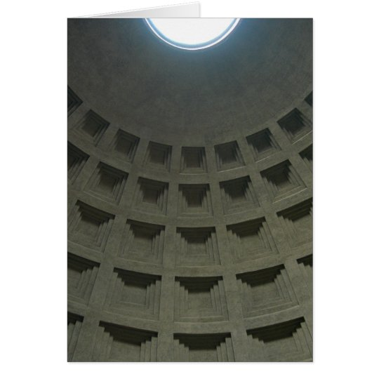 Pantheon Ceiling (Blank) Card