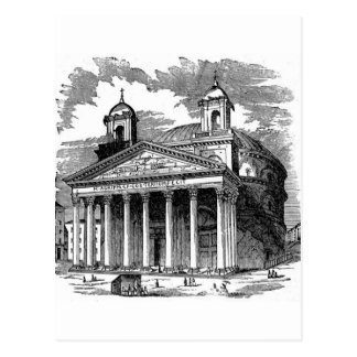 Pantheon Postcard