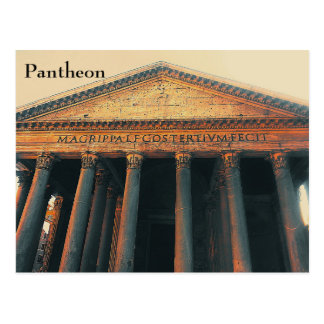 Pantheon Postcard