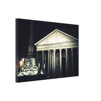 Pantheon, Rome. Italy Canvas Print