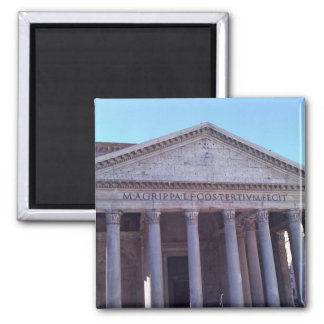 Pantheon, Rome, Italy Square Magnet