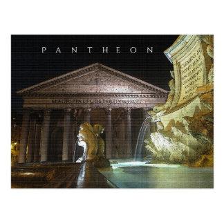 Pantheon, Rome. Postcard