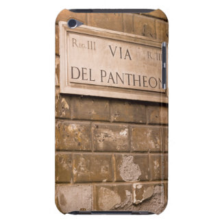 Pantheon sign, Rome, Italy 2 iPod Touch Covers