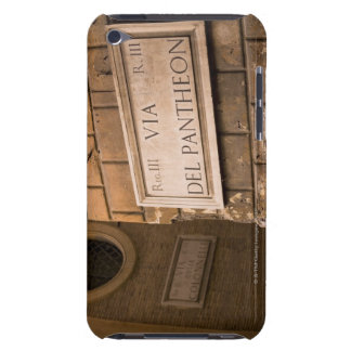 Pantheon sign, Rome, Italy iPod Touch Case