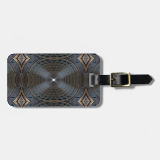 Pantheon Symmetry Luggage Tag