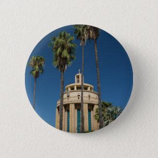 Pantheon, Syracuse, Sicily, Italy 6 Cm Round Badge