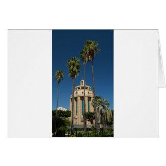 Pantheon, Syracuse, Sicily, Italy Card