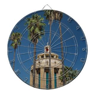 Pantheon, Syracuse, Sicily, Italy Dartboard